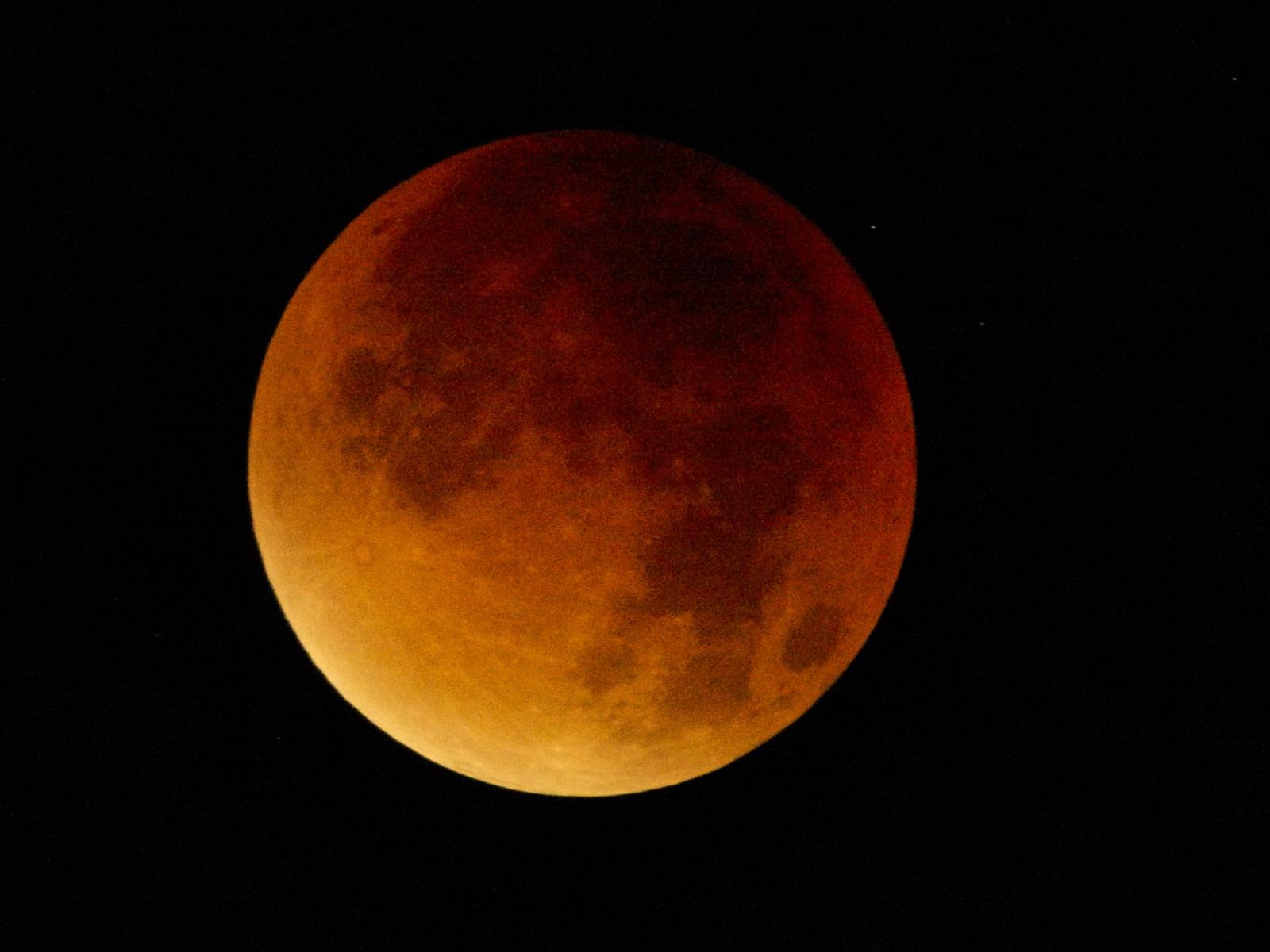 Måneformørkelse 2015'Blodmåne'